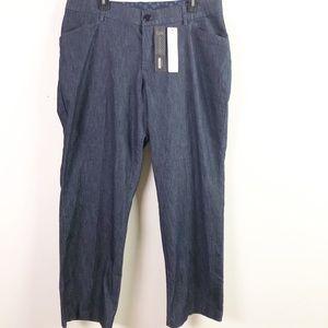 Lee Platinum 16WP Dark Wash Trouser Jeans New B4-2